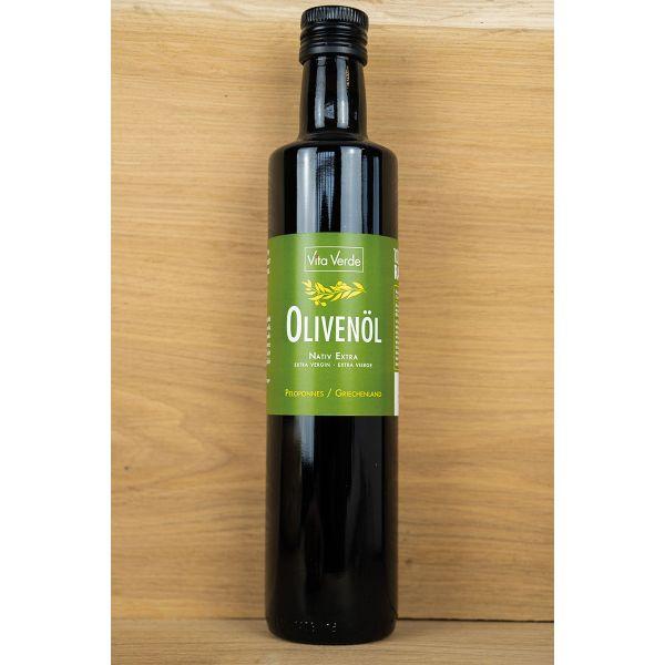 Bio - Olivenöl von VitaVerde, 500ml