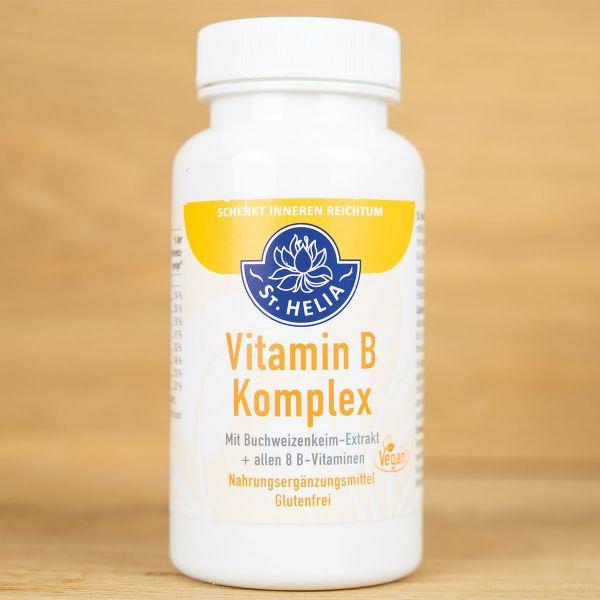 Vitamin B-Komplex (einschließlich B12) aus Buchweizenkeimen