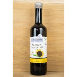 Bio - Sonnenblumenöl, nativ, kalt gepresst 500ml - fair trade
