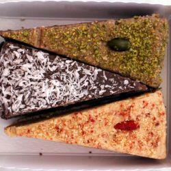 Bio - Tortenset (3 verschiedene Torten), circa 250g