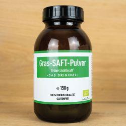 Bio - Grünes Grassaftpulver (Lichtkraft)