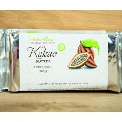 Bio - Kakaobutter, Rohkostqualität, 250g