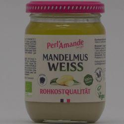 Bio - Mandelmus hell, im Glas, Rohkostqualität