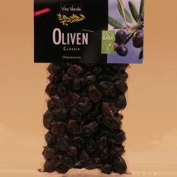 Bio - Oliven Thrumba, wenig Salz, Rohkostqualität, 200g
