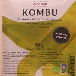 Bio - Kelp (Kombu) in Rohkostqualität, 150g