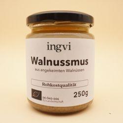 Bio - Walnussmus aus gekeimten Walnüssen